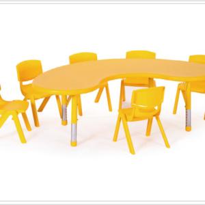 mesa escolar thaya amarilla