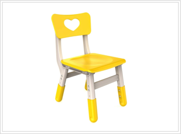 sillas escolares ronda amarilla