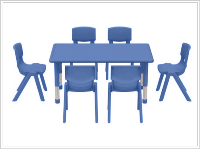 mesa escolar capella azul