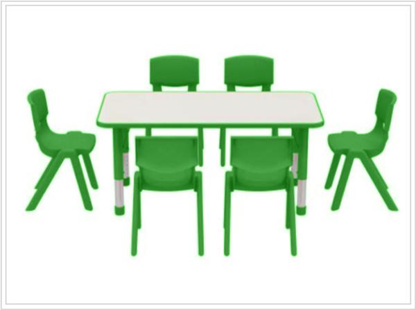 mesas escolares kala verde con sillas