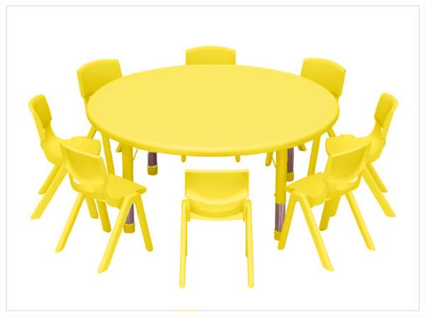 mesas escolares noga amarilla