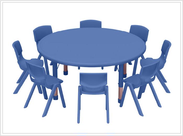 mesas escolares noga azul