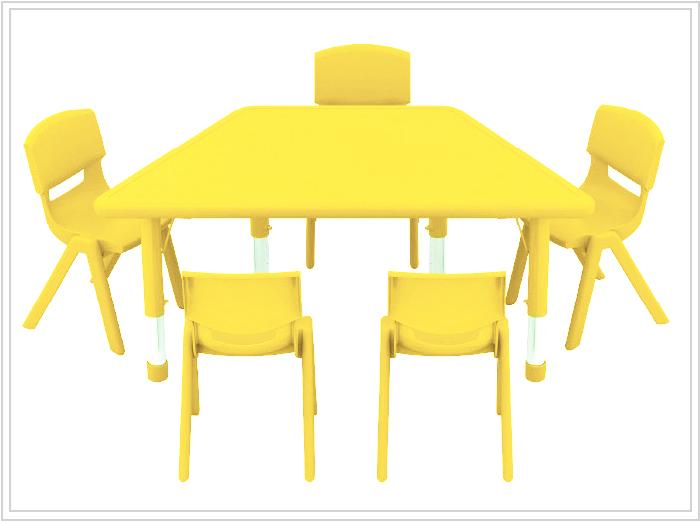 mesa escolar phakt amarilla