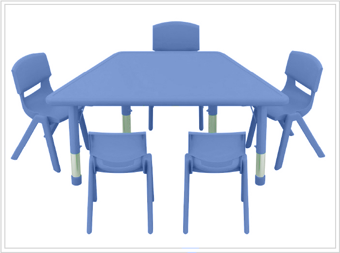mesa escolar phakt azul