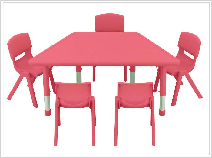 mesa escolar phakt roja