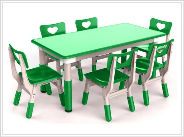 mesa ronda verde