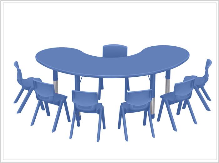 mesa modelo thaya azul
