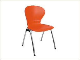 silla de oficina bravo naranja