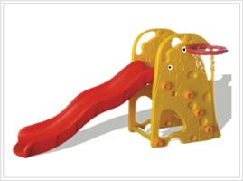 resbaladera para niños de jirafa